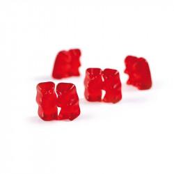 Gommes gélifiées à mâcher saveur fraise