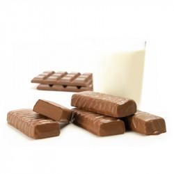 Barre Chocolat enrobée Chocolat au Lait
