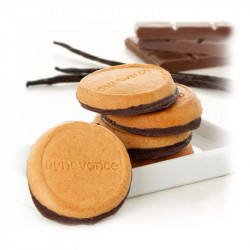 Dynovance Galletas de Vainilla con Chocolate