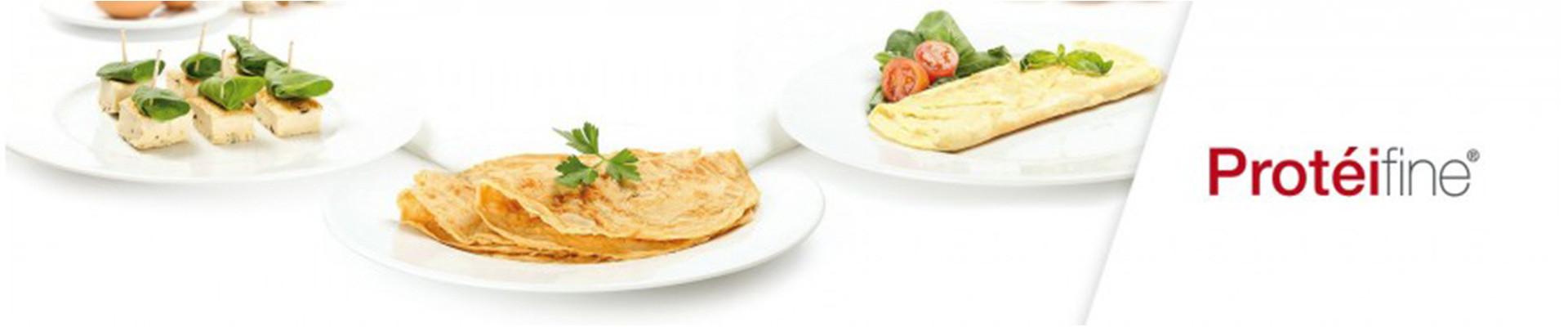 Omelettes et Crêpes Protéifine